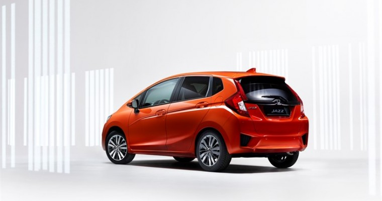 2015 Honda Jazz Revealed Ahead of Geneva Motor Show