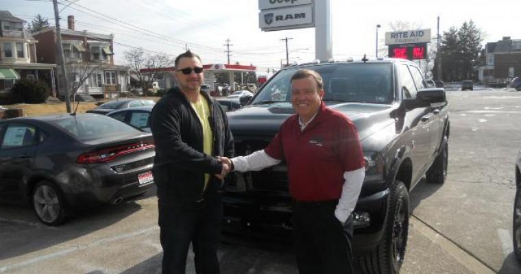 Philadelphia Man Wins Chrysler's 2014 National Sweepstakes