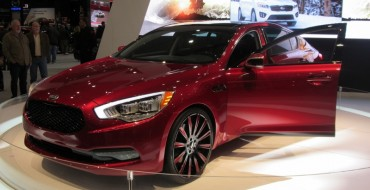 Kia K900 King James Edition Crowned at 2015 Cleveland Auto Show