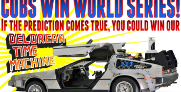 Volo Auto Museum Giving Away DeLorean if Cubs Win World Series
