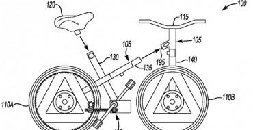 Ford Files Patent Application for Car with Built-in Bike