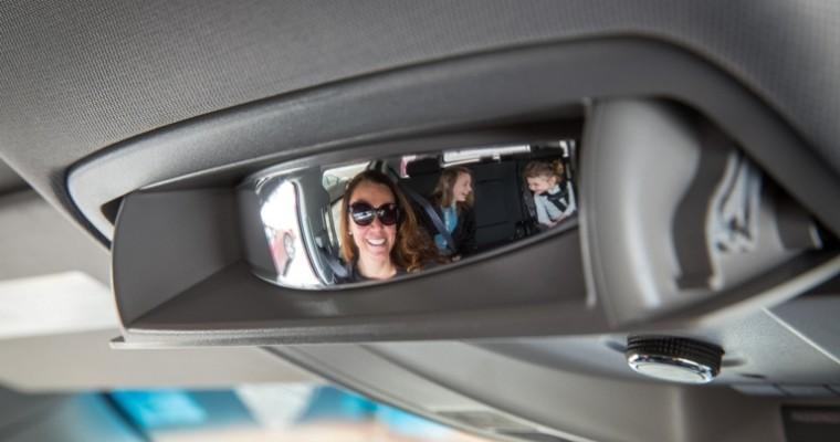 2015 GMC Yukon, Yukon XL Feature Standard Conversation Mirror