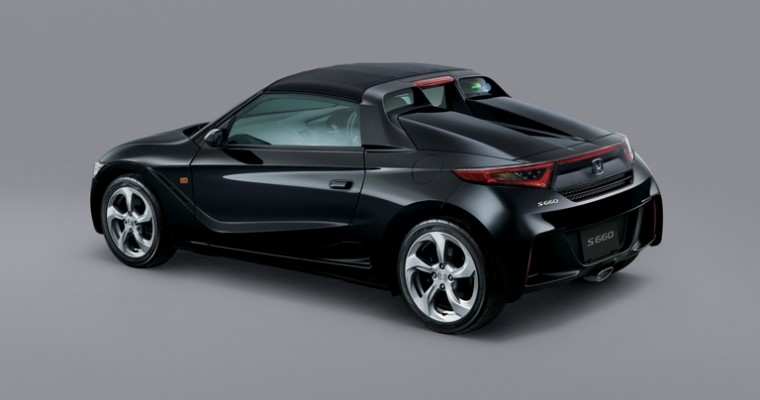 New Honda S660 Roadster Convertible is Adorable