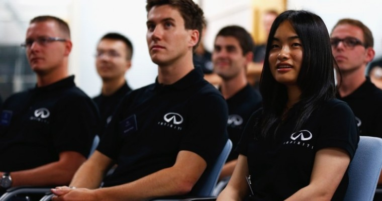 Infiniti Offers Engineering Students Chance to Work with F1 Team
