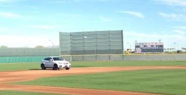 Jose Ramirez's BMW Plays Shortstop for Cleveland Indians