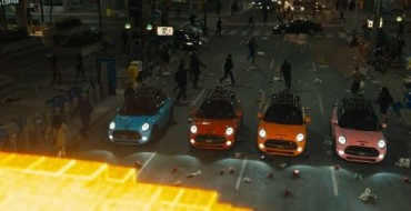 MINI Coopers Save the Day in New Pixels Movie