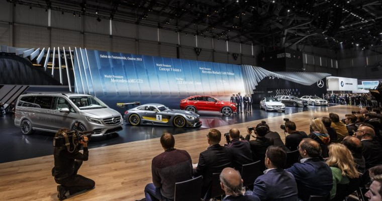 [PHOTOS] Mercedes at the 2015 Geneva Motor Show