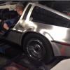 UC Student Puts Corvette Engine in a DeLorean
