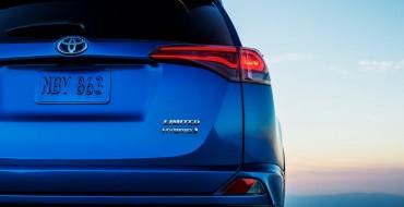 Toyota Teases RAV4 Hybrid Ahead of New York Auto Show