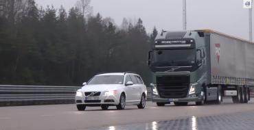 [VIDEO] Volvo's Braking System Stops 40-Ton Semi in Seconds