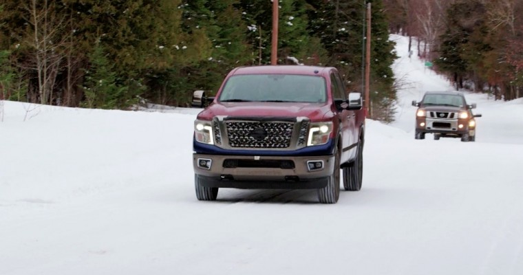 [VIDEO] Nissan Puts the 2016 Titan Through Real-World Cold Weather Testing