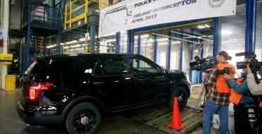 100,000th Ford Police Interceptor Rolls Off Line