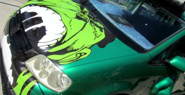 Hulk Mobile VW Touran from <i>Fast & Furious: Tokyo Drift</i> at Universal Studios