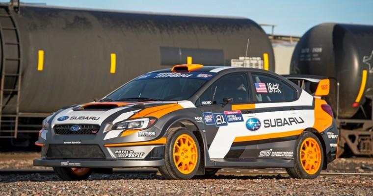 [PHOTOS] Subaru to Unveil New 2015 WRX STI Rallycross Car, VT15x, in New York