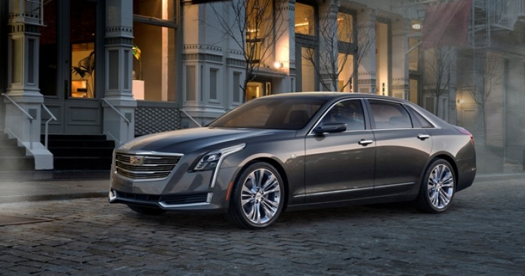 Here's the 2016 Cadillac CT6, Which is Definitely a Cadillac