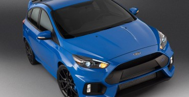 2016 Ford Focus RS to Make US Debut in New York
