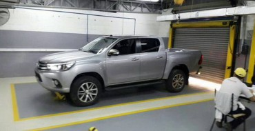 2016 Toyota Hilux Leaked Before Reveal