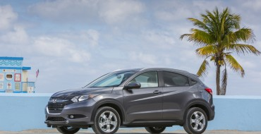 2016 Honda HR-V Achieves 5-Star Safety Rating from NHTSA