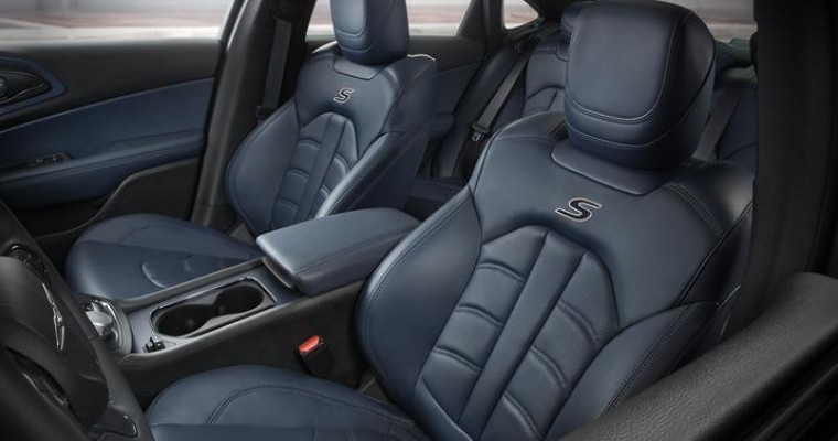 FCA Expands 2015 Chrysler 200 Interior Color Choices This Spring