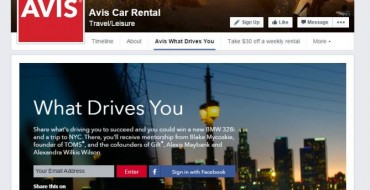 Win a BMW 328i in Contest by Telling Avis Car Rental What Drives You
