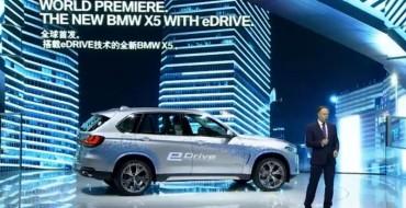 BMW Unveils X5 Hybrid, Zinoro Concept Next at Shanghai 2015