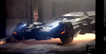Hey Look, It's the New Batmobile