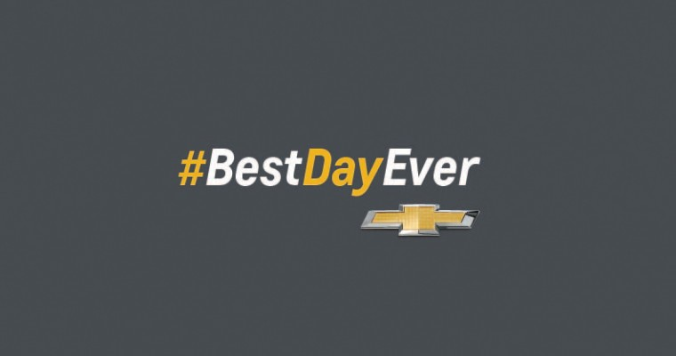 Chevy Says April 1st is the #BestDayEver. Okay. Sure.