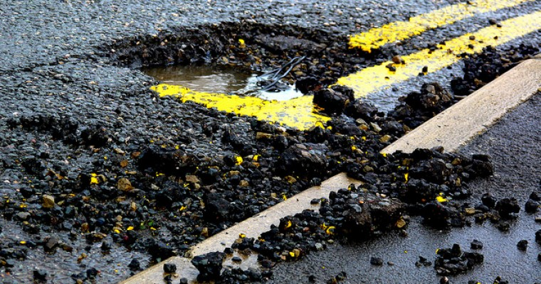 Ohio Woman Gets Ticketed for…Dodging Potholes?