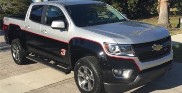 Custom Dale Earnhardt Chevy Colorado Auctioned Off for $48,400