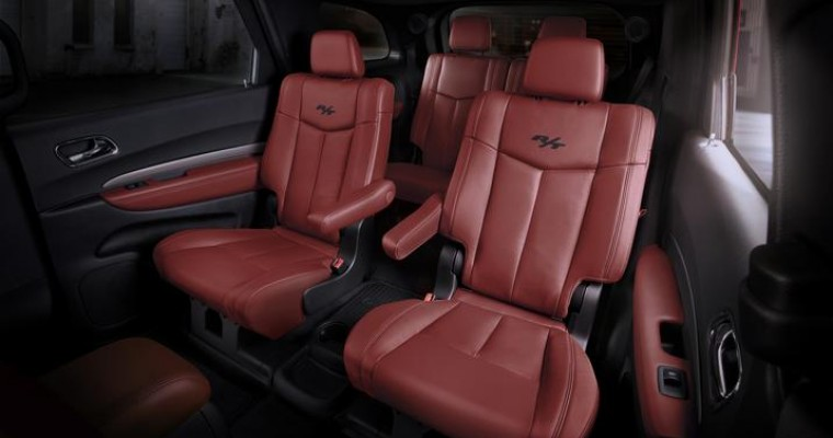 Dodge Durango Radar Red Nappa Leather Seats Fulfill Customer's Desires