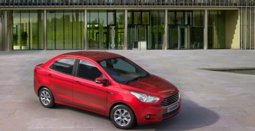 Ford Reveals Figo Aspire Compact Car