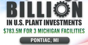 GM Announces $5.4 Billion US Investment