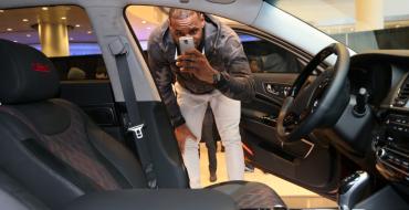 Bidding for LeBron's Custom Kia K900 Up to $89,000