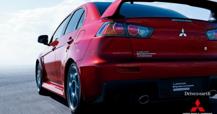 Japan to Get Mitsubishi Lancer Evo X Final Edition