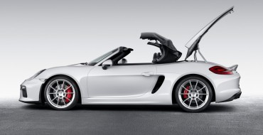 Porsche Boxster Spyder Debuts at New York International Auto Show