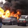 Long Island Man Blows Up Car in Supermarket Parking Lot