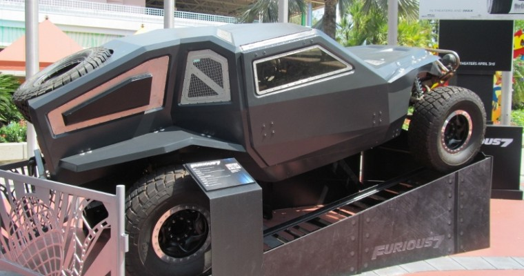 3 Cars from 'Furious 7' on Display at Universal Studios Orlando