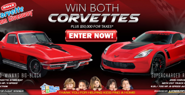 Enter to Win a 1967 Corvette Stingray and a 2015 Corvette Z06