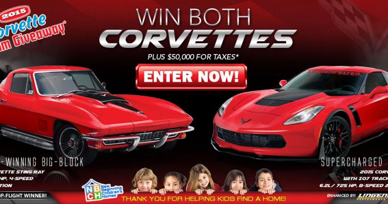 Enter to Win a 1967 Corvette Stingray and a 2015 Corvette Z06
