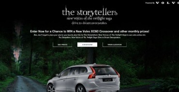 Win a Volvo XC60 in The Storytellers: New Voices of <i>Twilight</i> Car Sweepstakes