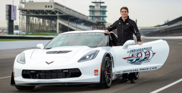 Jeff Gordon Discusses Driving the Corvette Z06 Pace Car at the Indy 500