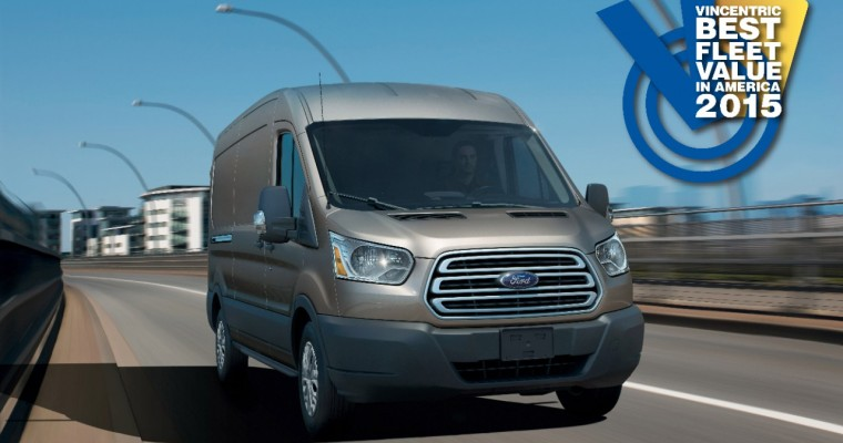 Ford Transit Wins Five Vincentric Best Fleet Value Awards