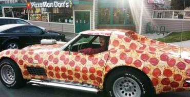 Pizzaman Dan's C3 Corvette Wows at Pizza Expo