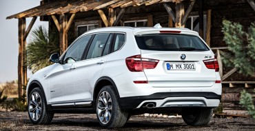 Electric News: 2017 BMW X3 to Feature Plug-In Hybrid Drivetrain