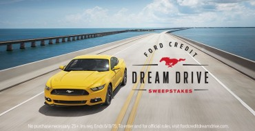Enter Ford Credit Dream Drive Sweeps for Four-Day Getaway