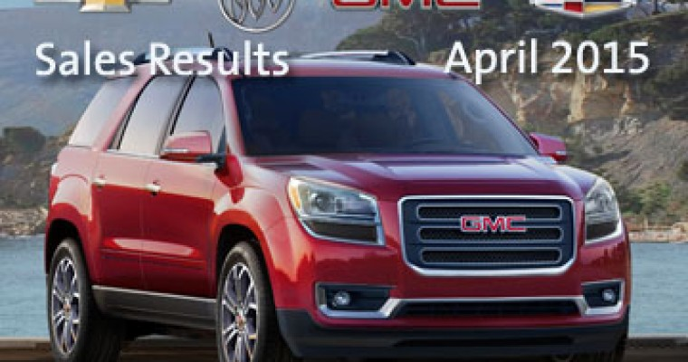 GM Sales Up 6% in April on Crossover, Pickup Momentum