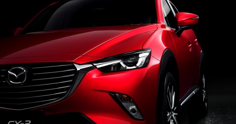 Mazda CX-3 Takes Top Honors in Northwest Auto Press Association's Mudfest