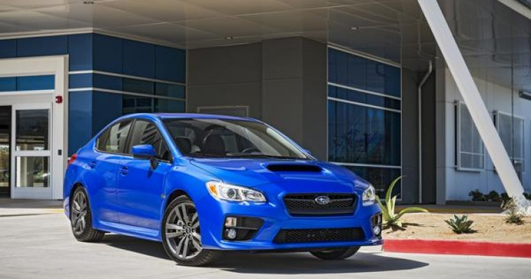 Subaru Releases Info on 2016 Subaru WRX, 2016 Subaru WRX STI