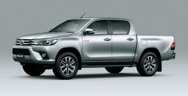 Toyota Unveils 2016 Hilux Pickup