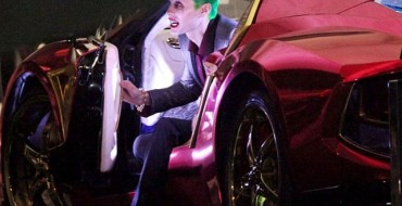 Jared Leto's Ridiculous Joker Has a Ridiculous Car to Match